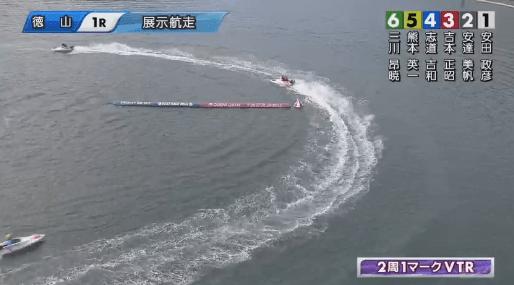 競艇(ボートレース)回り足・旋回運動